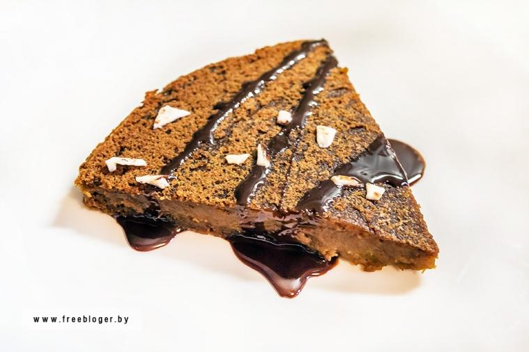 Пирог из печеной тыквы