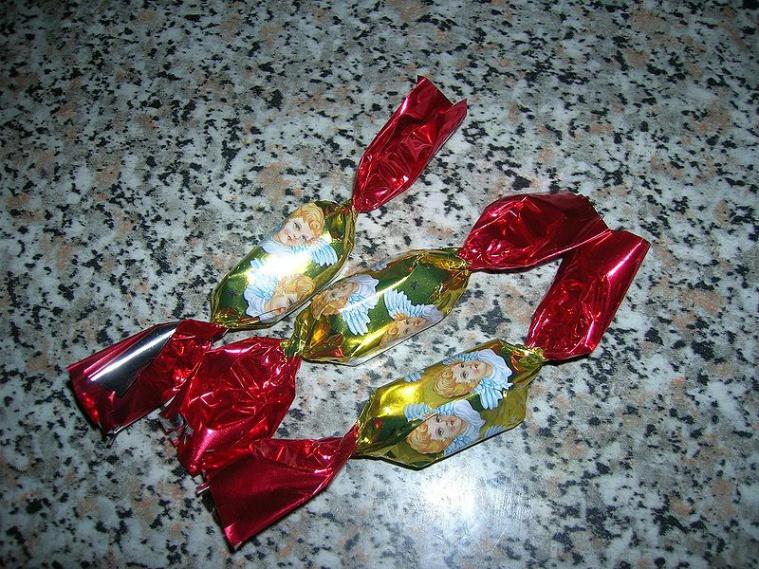 венгерские рождественские конфеты салонцукор/szaloncukor
