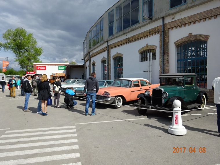 Венгрия, Будапешт, выставка Oldtimer Show 2017
