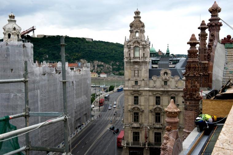 Párizsi Udvar / Парижи удвар / Парижский дворик в Будапеште / Венгрии