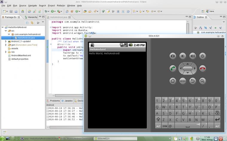 Как создать интерфейс в эклипс