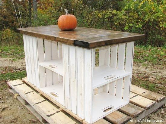 Стол для кухни на даче