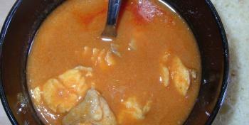 Халасле/Halászlé - венгерский рыбный суп/уха по-венгерски