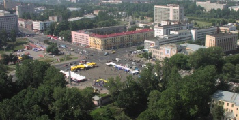 Витебск с вертолета (2002 год)