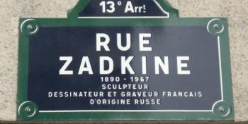 Rue Zadkine