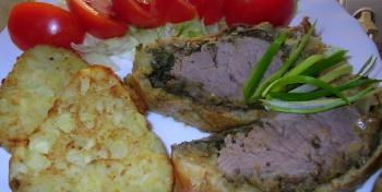 Мясо в слоёном тесте (или вариация на тему «Веллингтонского филе»)