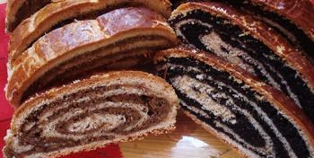 Бейгли - маковые и ореховые рулеты (венгерская кухня)