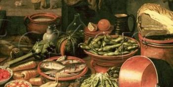 Што елі-пілі нашыя продкі на пачатку 18-га стагоддзя
