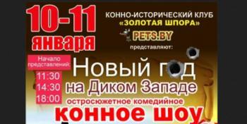 Минск. Новогоднее конное шоу. 10-11 января