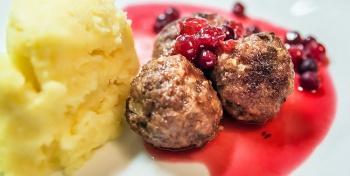 Мясные тефтели по-шведски
