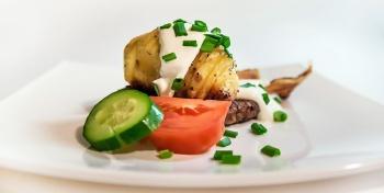 Хрустящий картофель с беконом