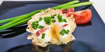 Хаш браун с яйцом (или завтрак выходного дня).