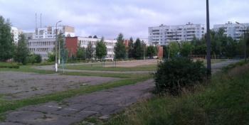 Гимназия №7. Стадион
