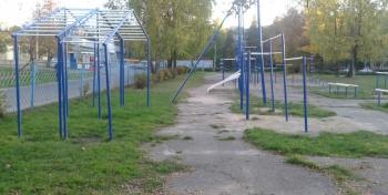 Средняя школа №25. Стадион.