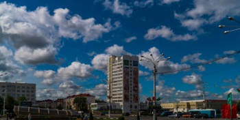 Облачный Витебск 19.07.2016