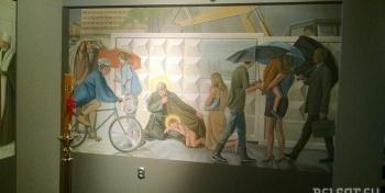 Современная католическая релизиозная живопись на примере витебского костела