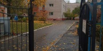На проспекте Победы есть один конц(зачёркнуто)... детский садик